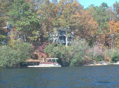 House, View From The Lake